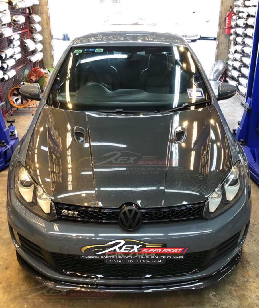 Volkswagen MK6 GTI Front Lip Revozport