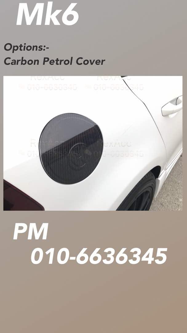 Volkswagen MK6 Cabon Petrol Cover