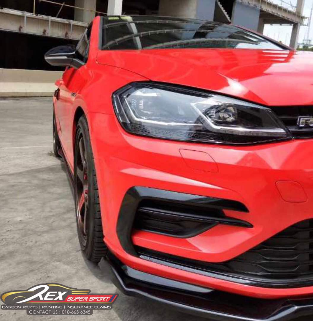 Golf Mk7 5 R Front Lip Rexsupersport Specializes In