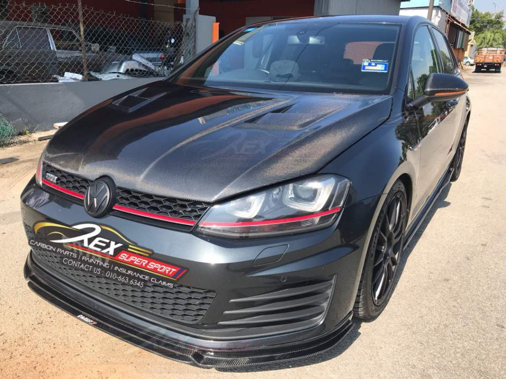 Volkswagen MK7 GTI Front Lip Revozport