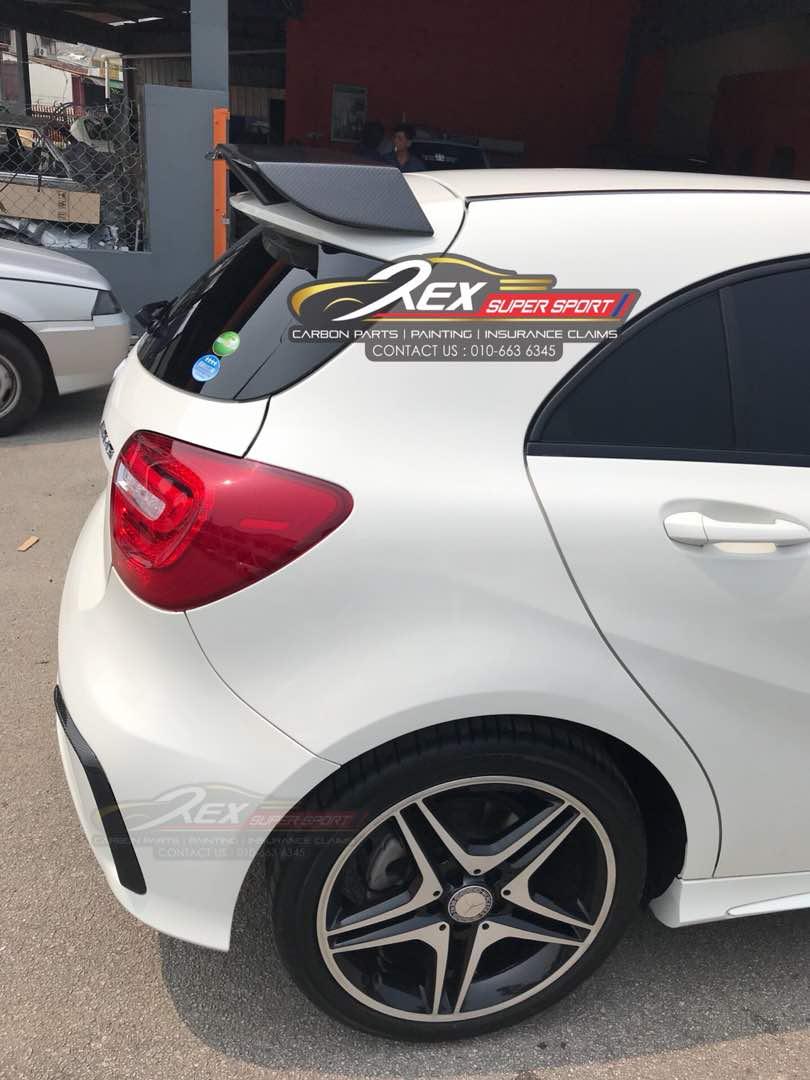 Mercedes A-CLASS W176 Revozport Spoiler