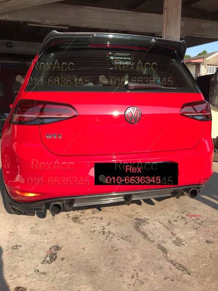 Volkswagen MK7.5 GTI & MK7.5 R Osir Spoiler