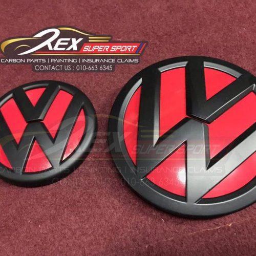 Volkswagen Jetta VW Emblem