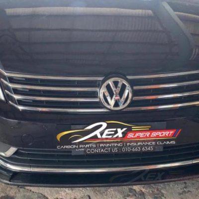 Volkswagen Passat B7 Front Lip