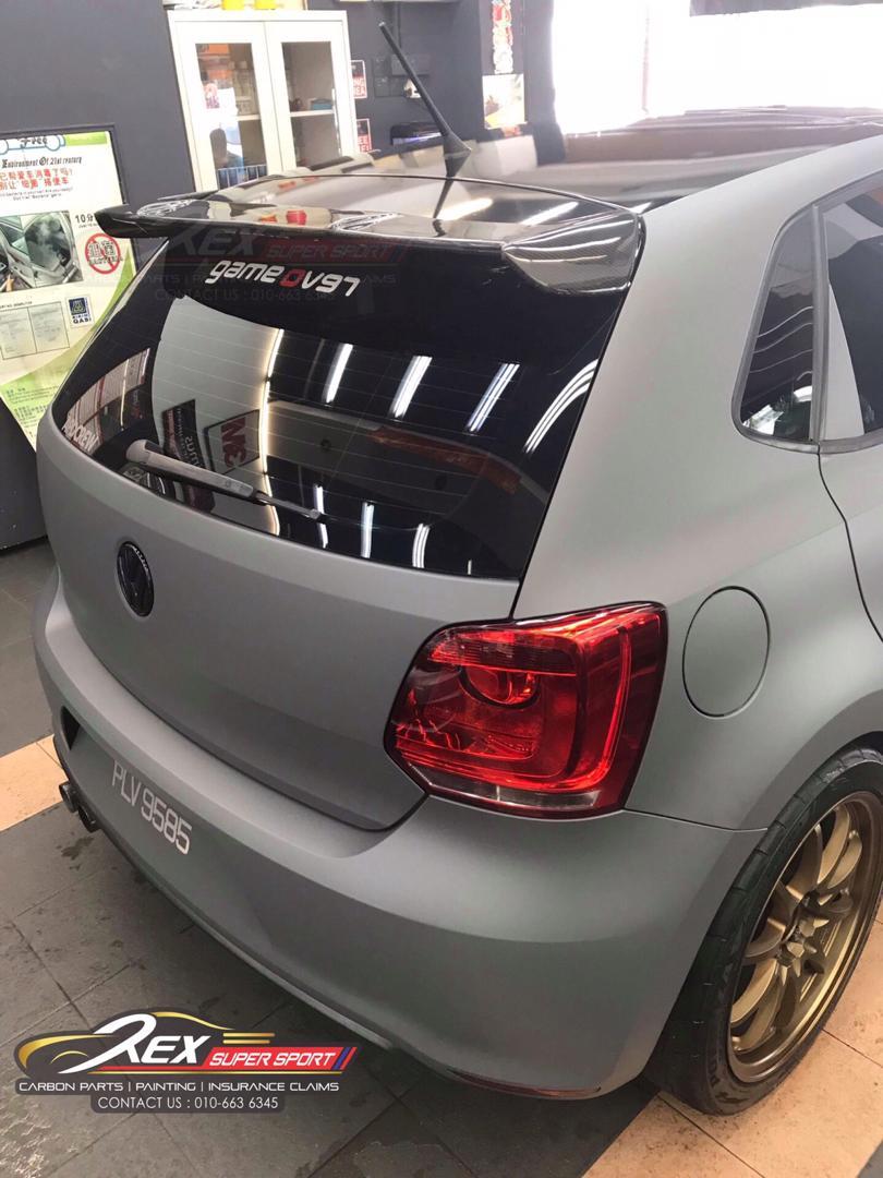 Volkswagen Polo Spoiler