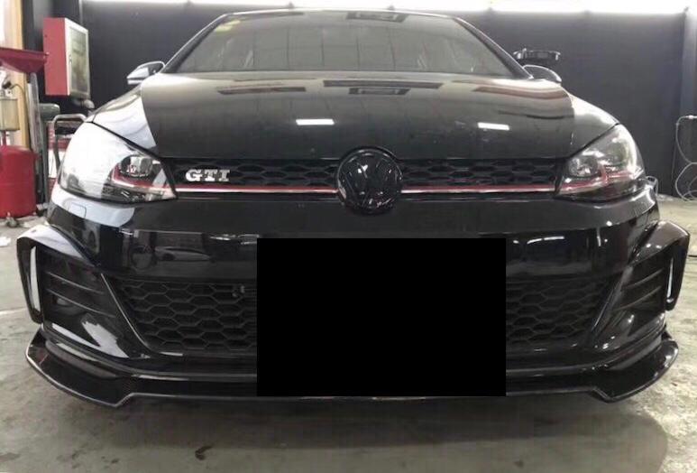 Volkswagen MK7.5 GTI Front Lip WX