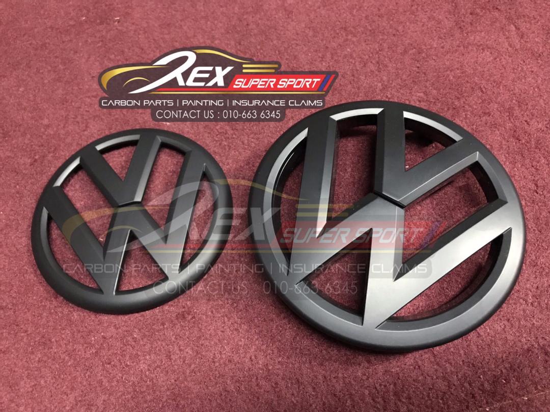 Volkswagen MK6 VW Emblem