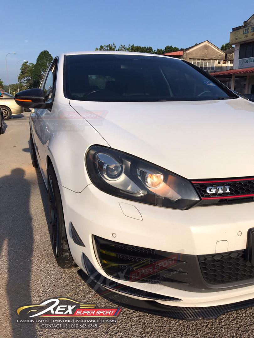 Golf Mk6 Gti Front Canard Rexsupersport Specializes In