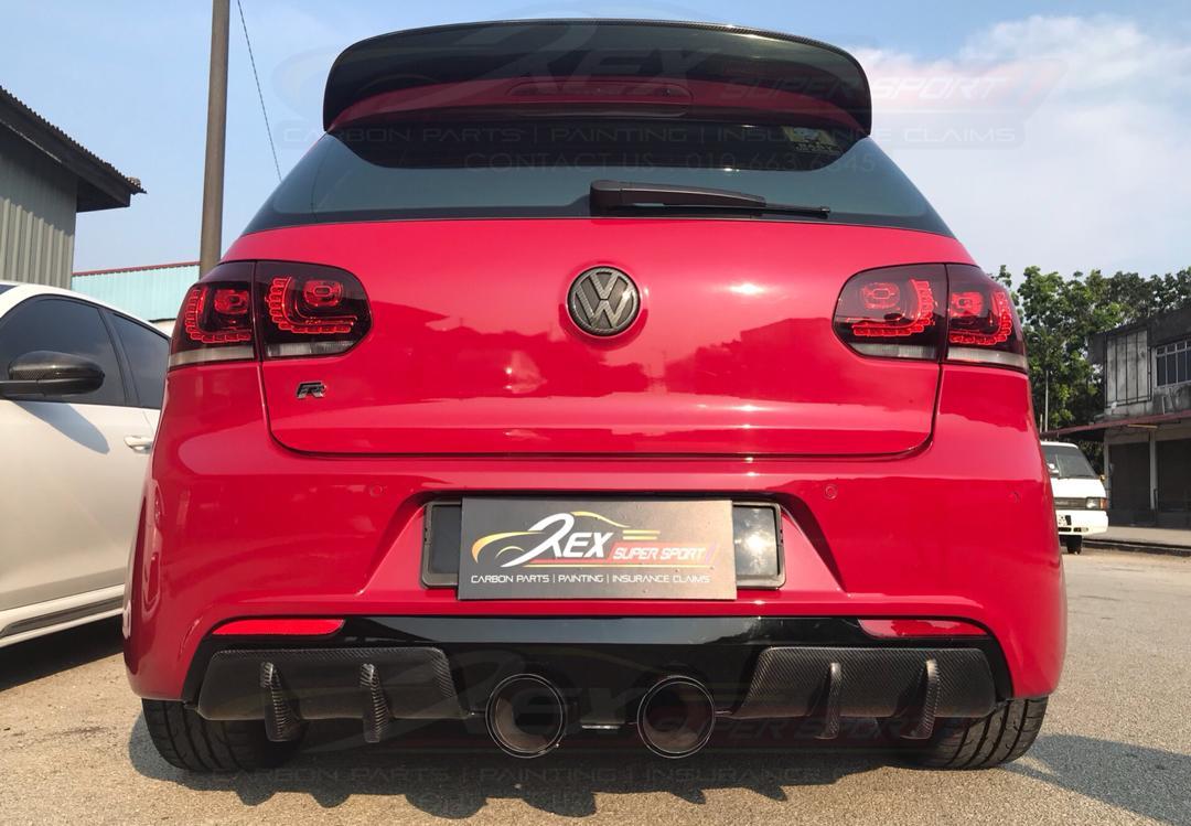 Volkswagen MK6 R Osir Diffuser