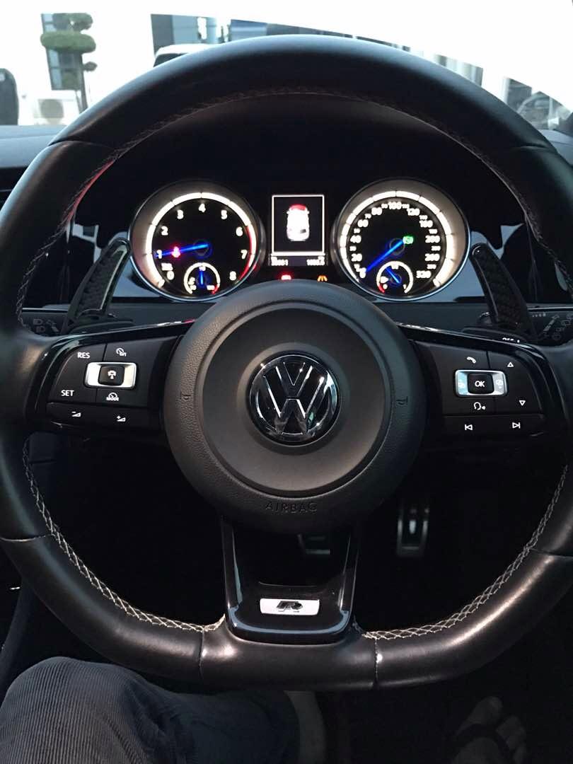 Volkswagen MK7.5 GTI & MK7.5 R Plastic Paddle Shift