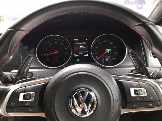 Golf Mk7 Mk7 5 Gti R Plastic Paddle Shift
