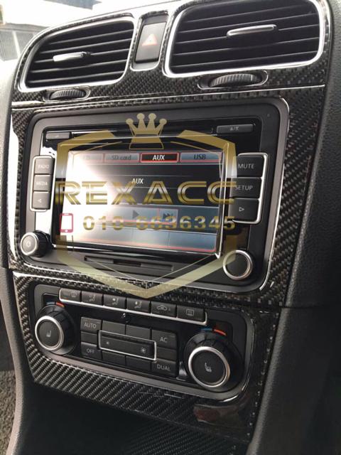 Volkswagen MK6 Carbon Interior