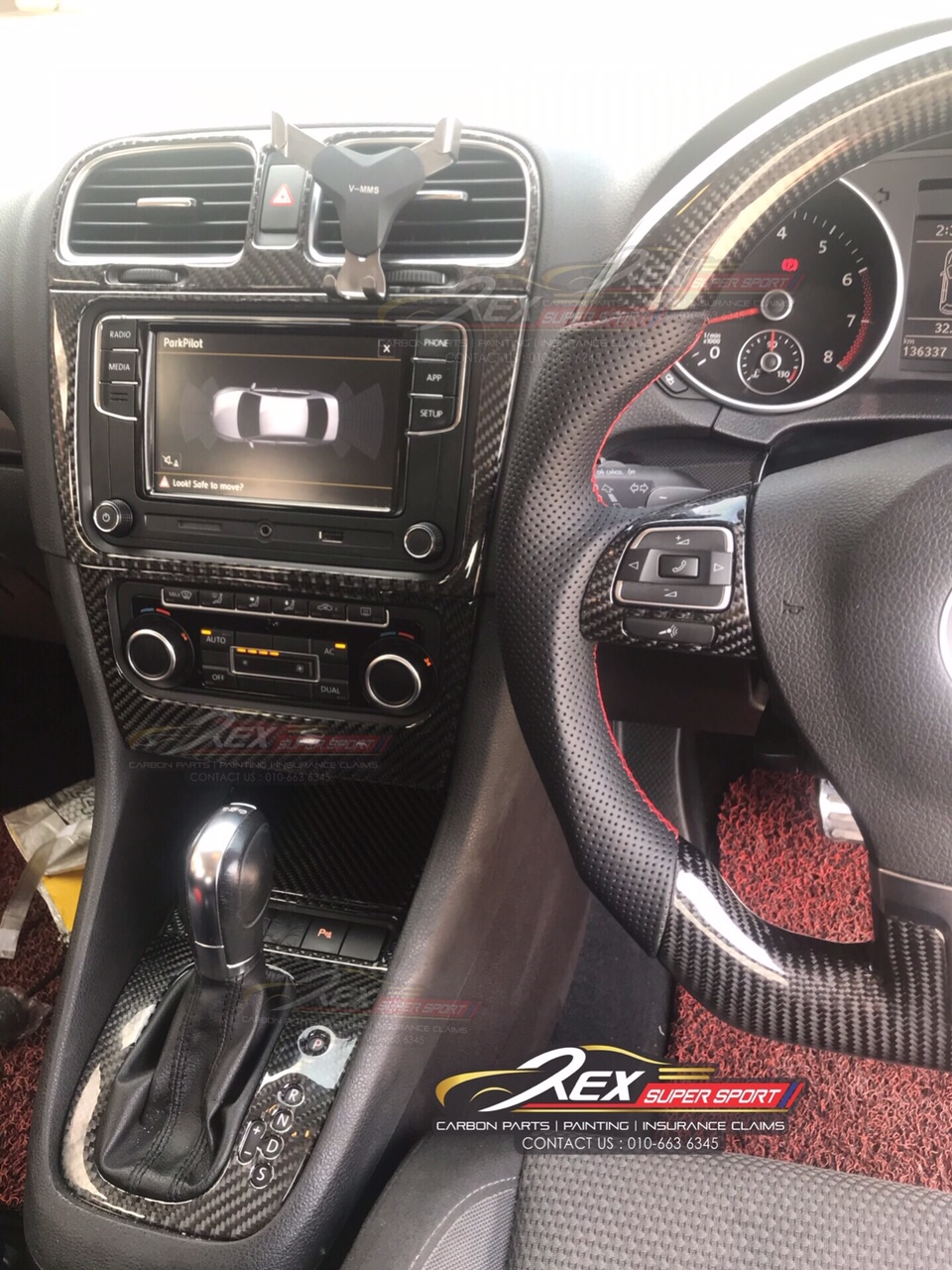 Golf Mk6 Carbon Interior Trim Set Rexsupersport Specializes In Providing Carbon Fibre Parts And Accessories