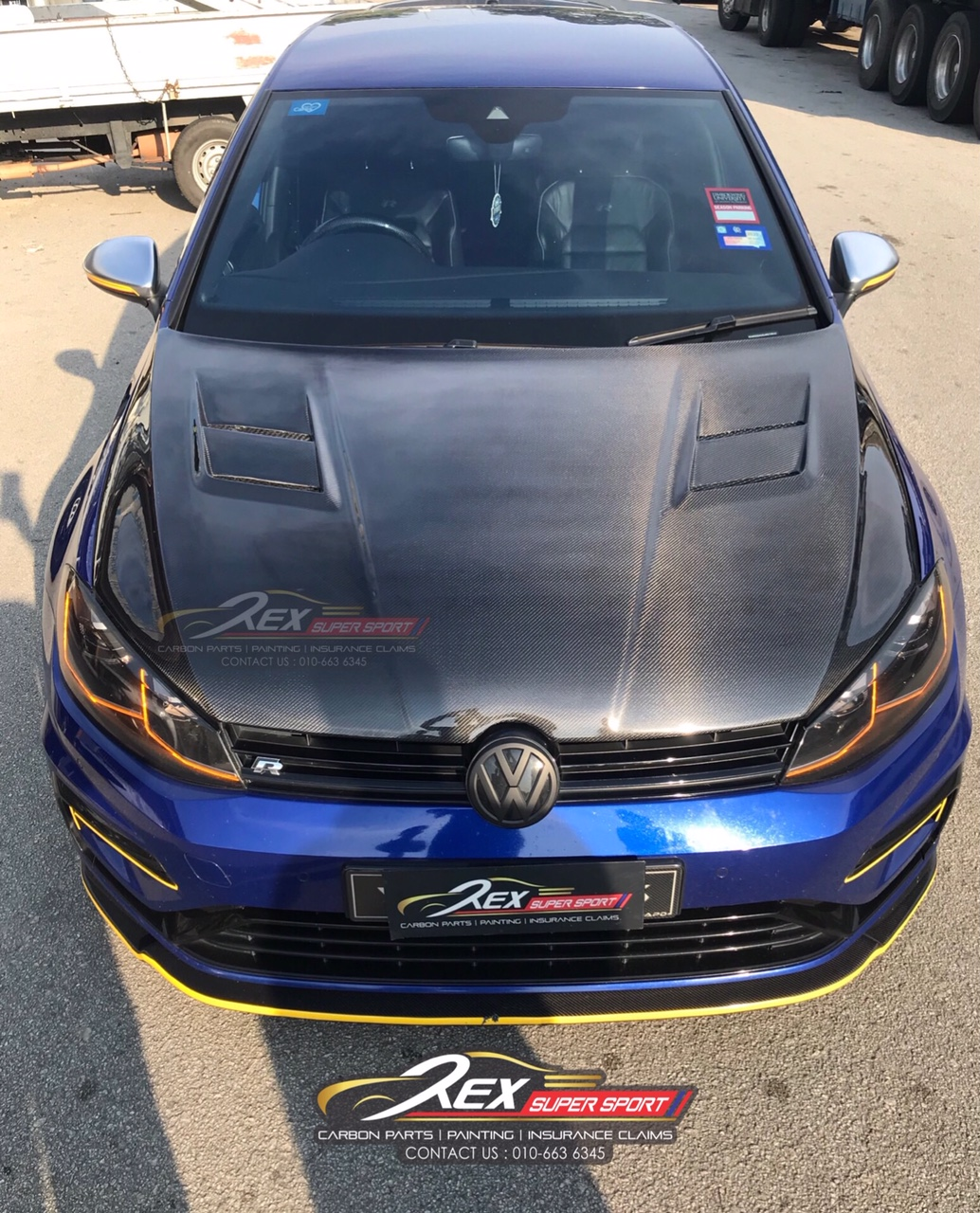 Golf Mk7 Mk7 5 Aspec Carbon Bonnet Hood Rexsupersport