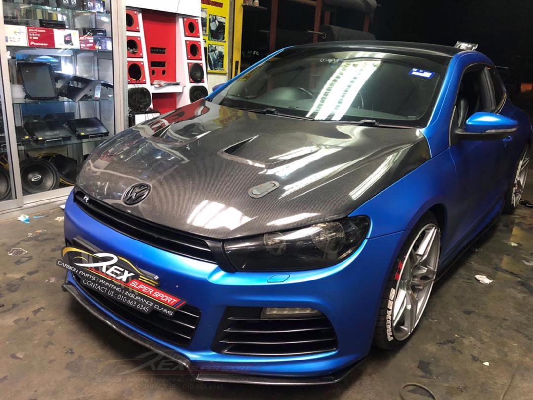 Volkswagen Scirocco R Front Lip Revozport