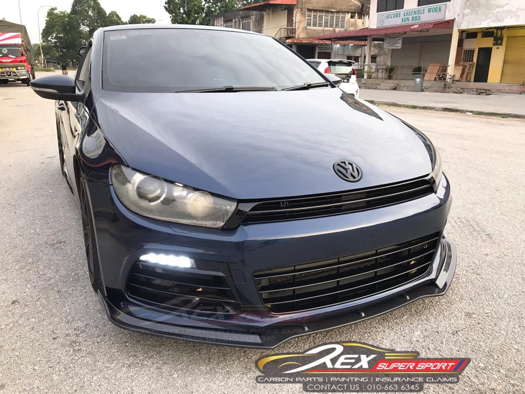 Volkswagen Scirocco R Front Lip WX
