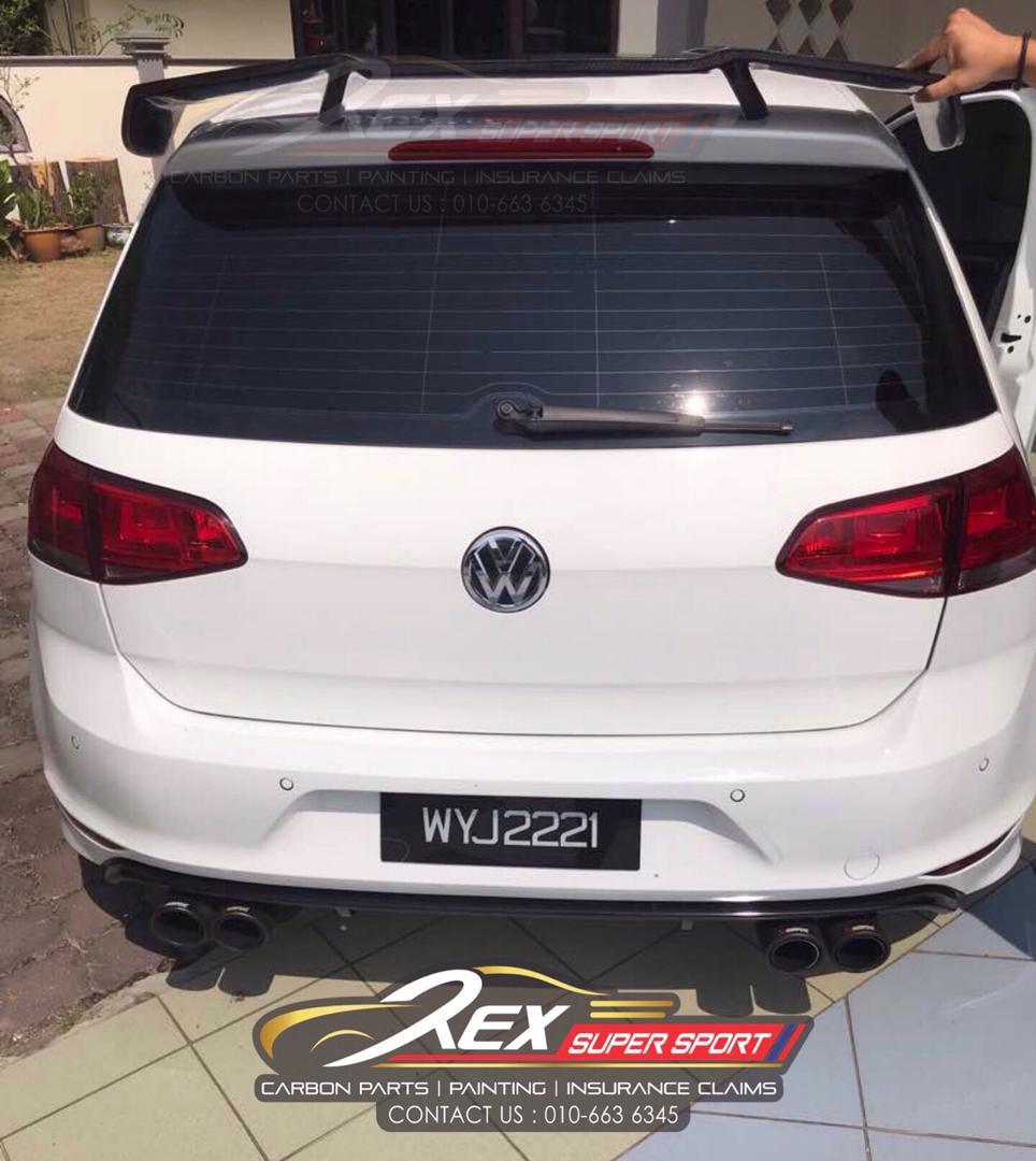 Volkswagen MK7.5 Revozport Spoiler