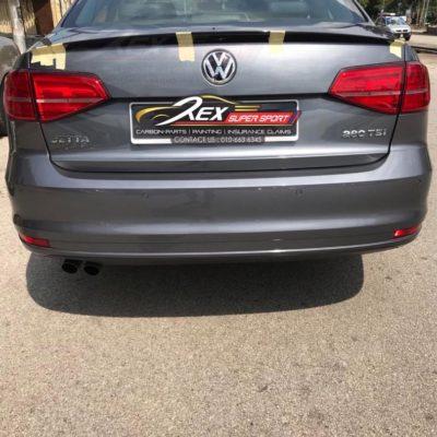 Volkswagen Jetta ABS Black Spoiler